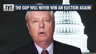 Lindsey Graham Admits Republicans Don't Want People Voting