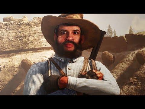 CHEGUEI RASGANDO! - Red Dead Redemption 2