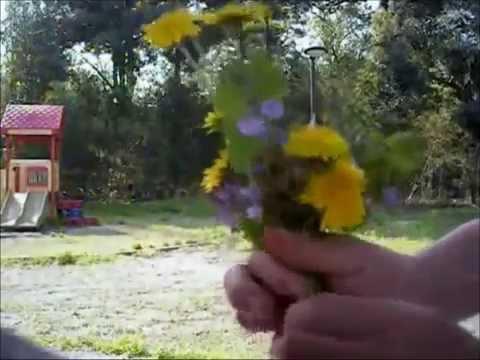 Уроки флористики: фантастически-очаровательный букет из полевых цветов (флористика мастер класс).
