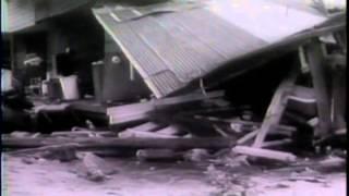 Tsunami newsreel Hilo Hawaii April 1 1946