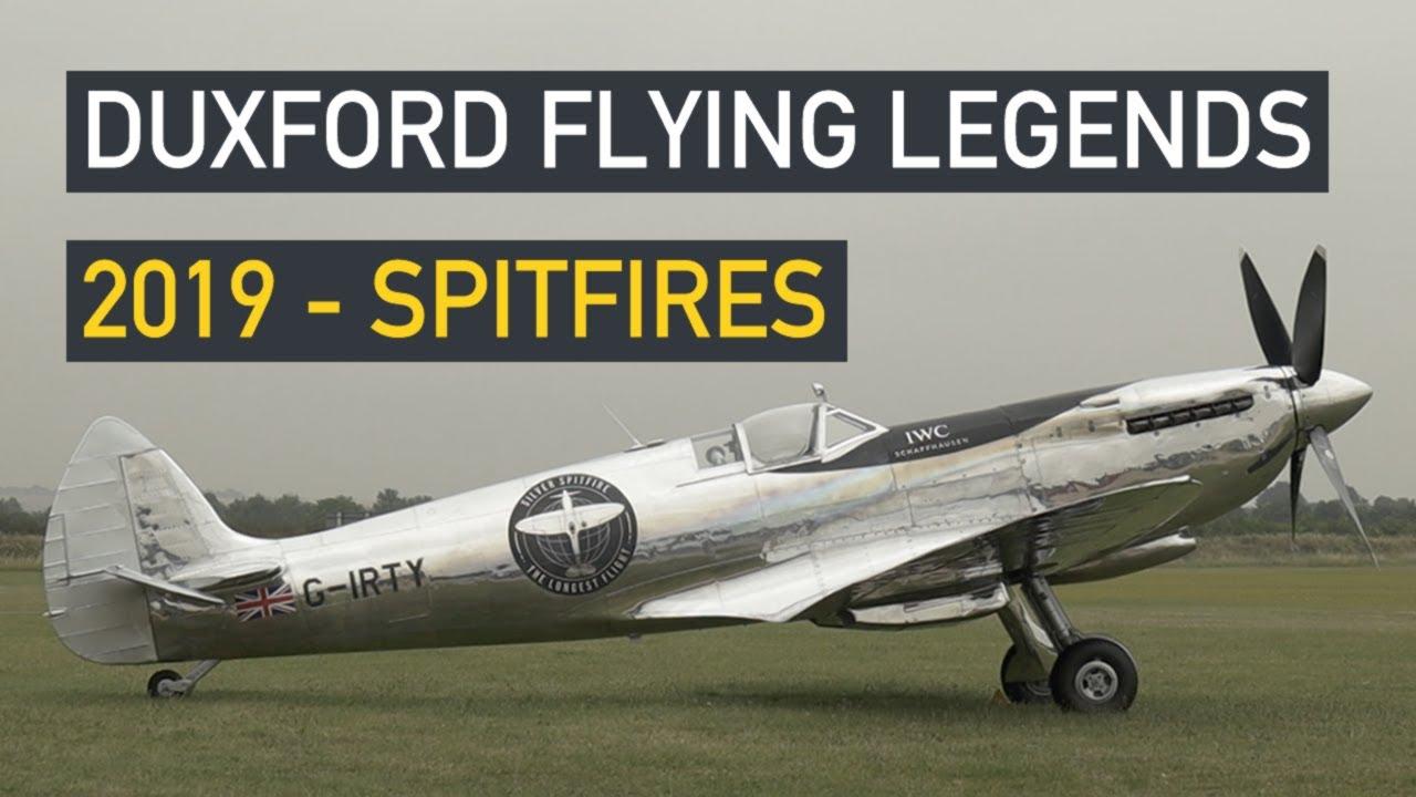Duxford Flying Legends 2019 - Spitfires