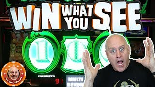 🤑$100 BET$ 🤑Win What You See 🎰3 Reel JACKPOT!