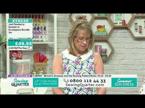 Sewing Quarter - Easy Like Sunday Morning - 4th June 2017