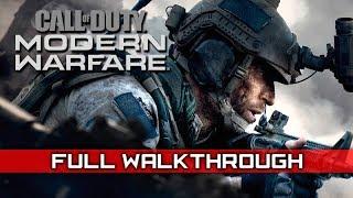 CALL OF DUTY: MODERN WARFARE 2019 Full Gameplay Walkthrough (No Commentary) 1080p HD 60FPS