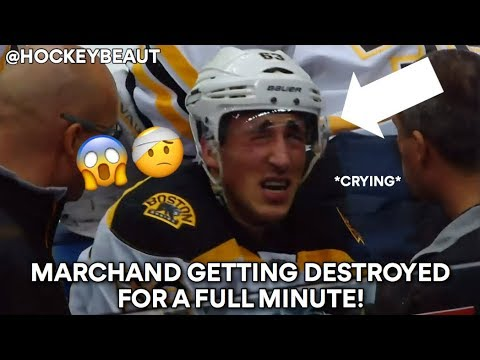 Marchand Getting Destroyed for a Full Minute!