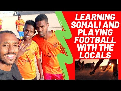 learning Somali and playing football with the locals (KoKo Vlogs #34)