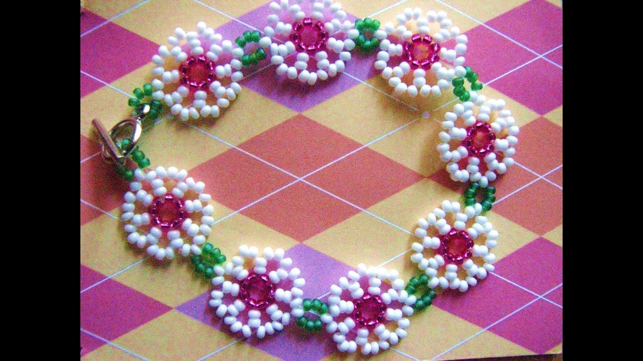 Daisy Chain Bracelet Or Anklet Youtube