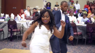 WORLD BEST WEDDING DANCE EVER (OJORO JUSTICE MY SIZE)