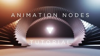 Animation Nodes Tutorial - Abstract Twisty Arch - Blender 2.79