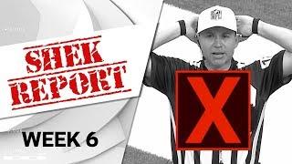 Top 3 Fails of Week 6 | Shek Report | NFL