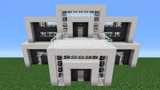 Minecraft Tutorial How To Make A Miniature House 3