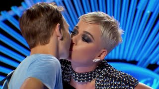 Katy Perry stole American Idol contestant's first kiss