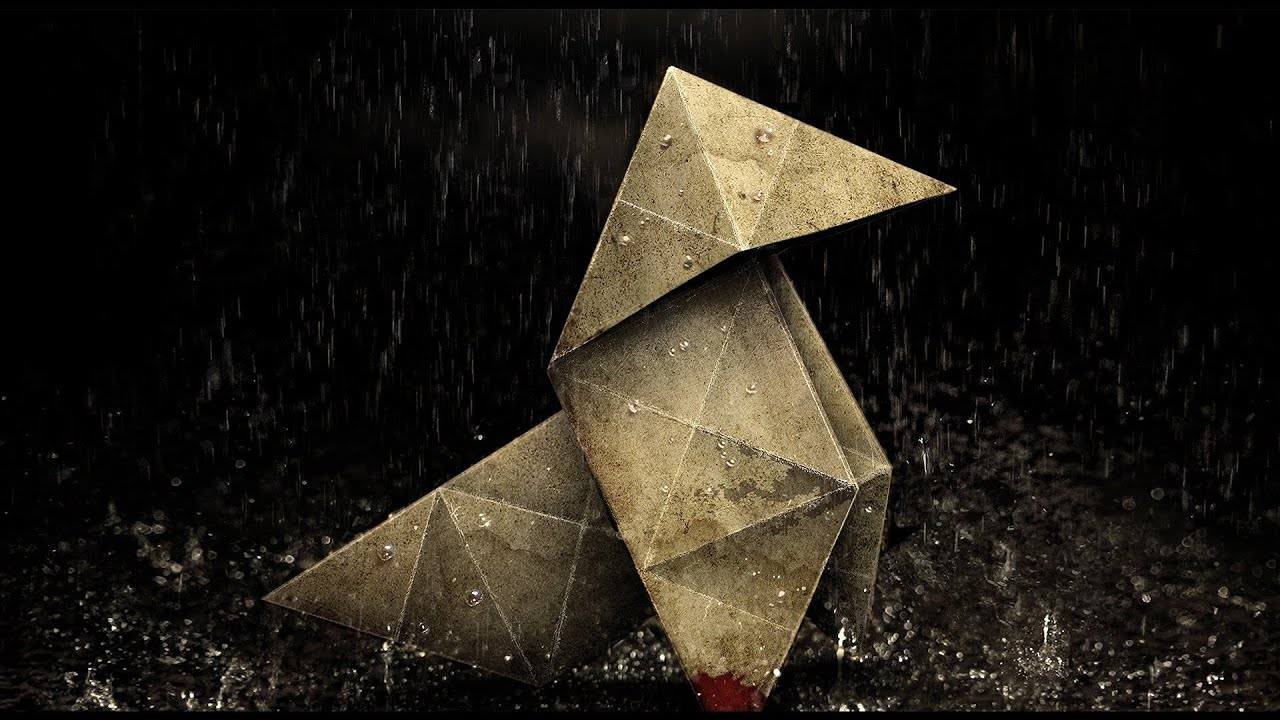 heavy rain ps3 origami tutorial youtube