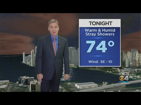 CBSMiami.com Weather @ Your Desk 2-21-19 11PM