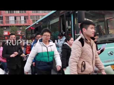 China: 2 million participate in nationwide postgraduate entrance exams