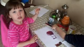 Рисуем красками геометрические фигуры