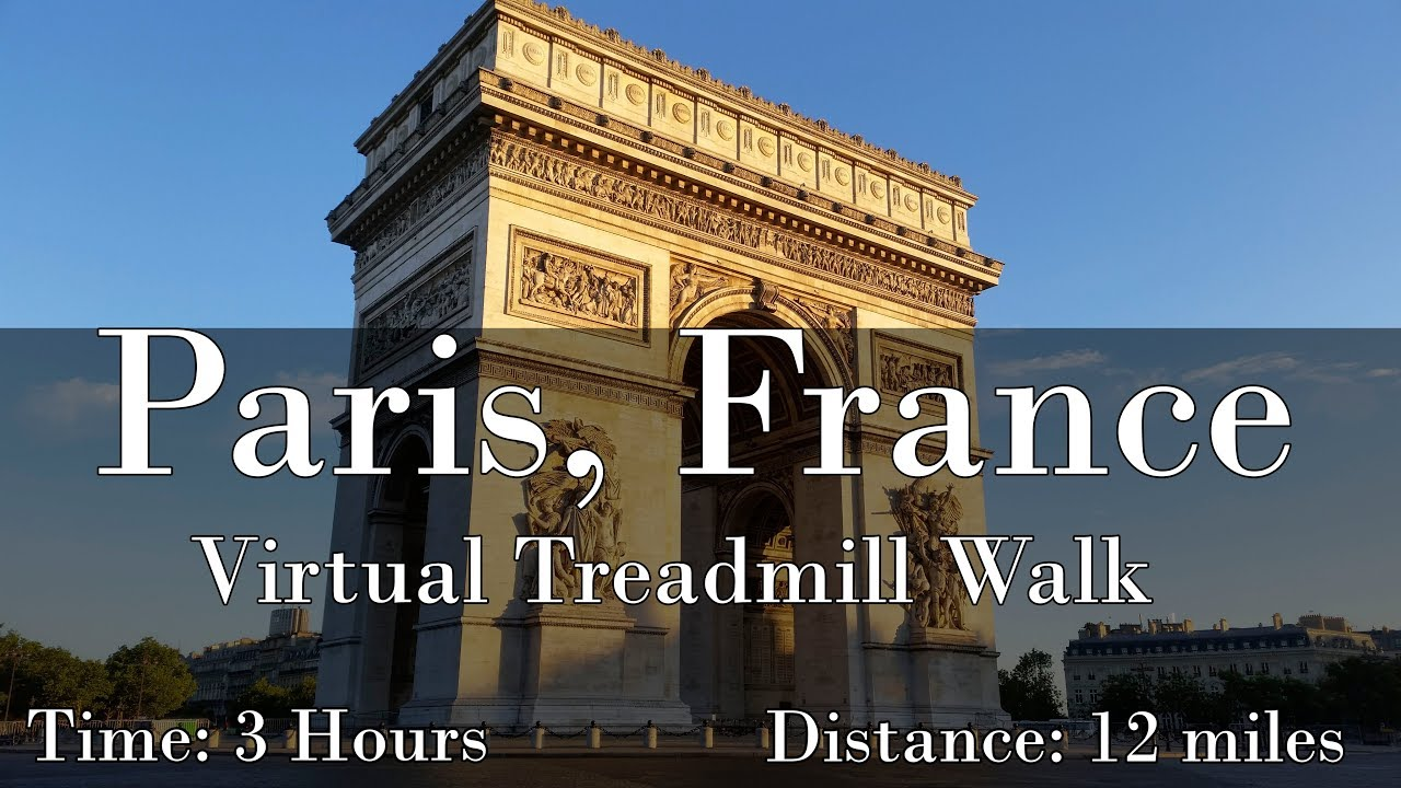Paris, France Walking Tour (with Music)