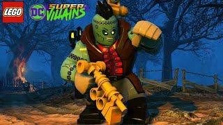 LEGO DC Super Villains Frankenstein Unlock + Free Roam Gameplay
