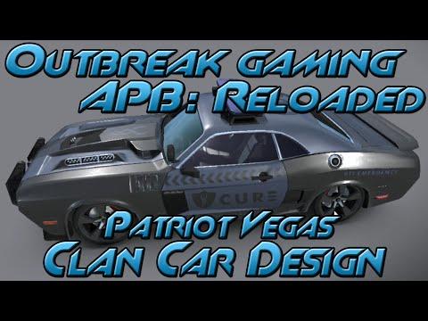 All Points Bulletin: Reloaded - Patriot Vegas Clan Car Design