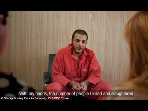 وجها لوجه مع الداعشي الذي اغتصبها