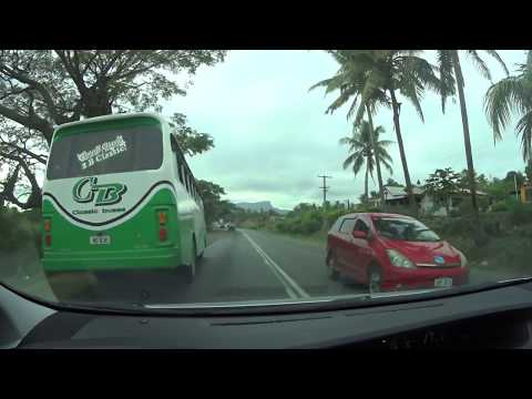 Classic bus of Fiji with no working brake lights and doesnt use indicator
