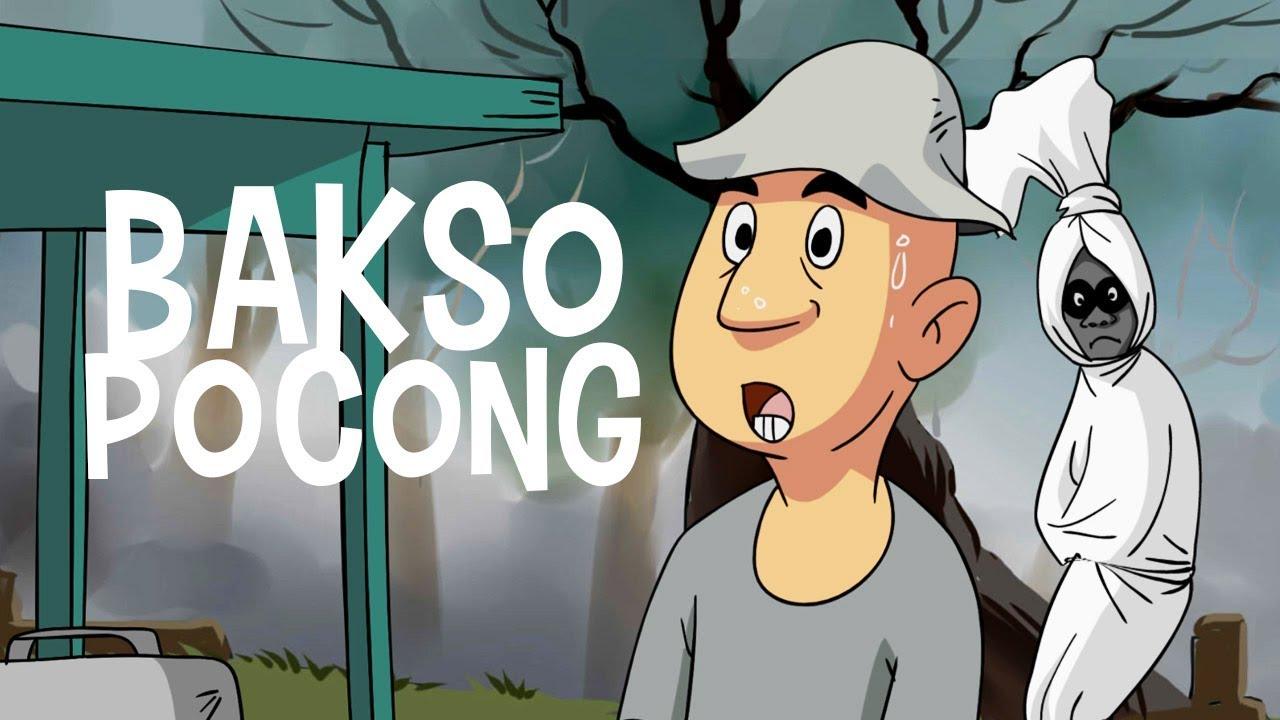 Kartun Hantu Bakso Pocong