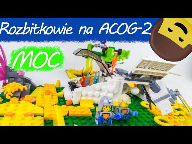 LEGO CHLEBO MOC Rozbitkowie na ACOG-2