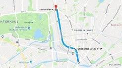 Radtour: Fuhlsbüttler Straße, Drosselstraße, Rübenkamp