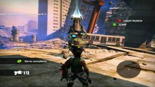 Bionic Commando PC Gameplay HD 4870