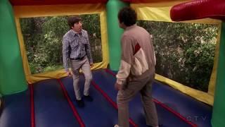 Raj & Howard's Bounce House Fight || TBBT || 11 X 11