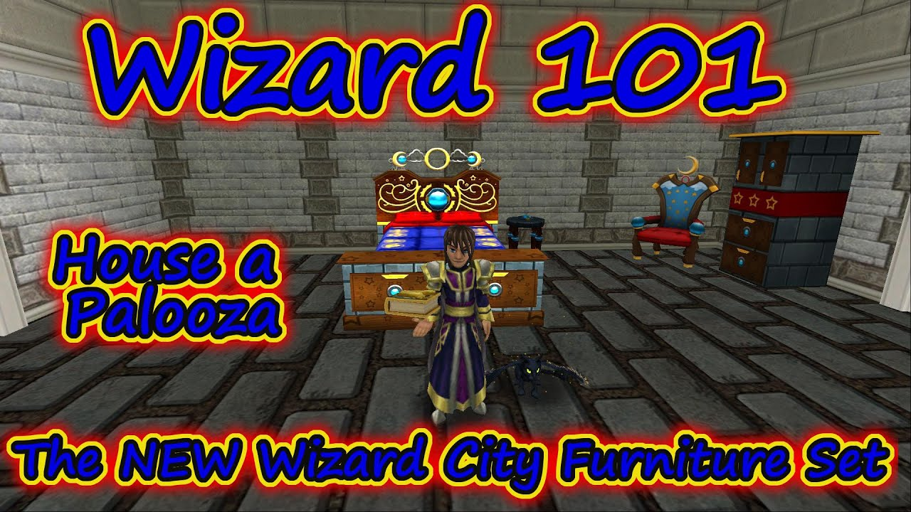 Wizard101 house a palooza the wizard city furniture for Furniture 101