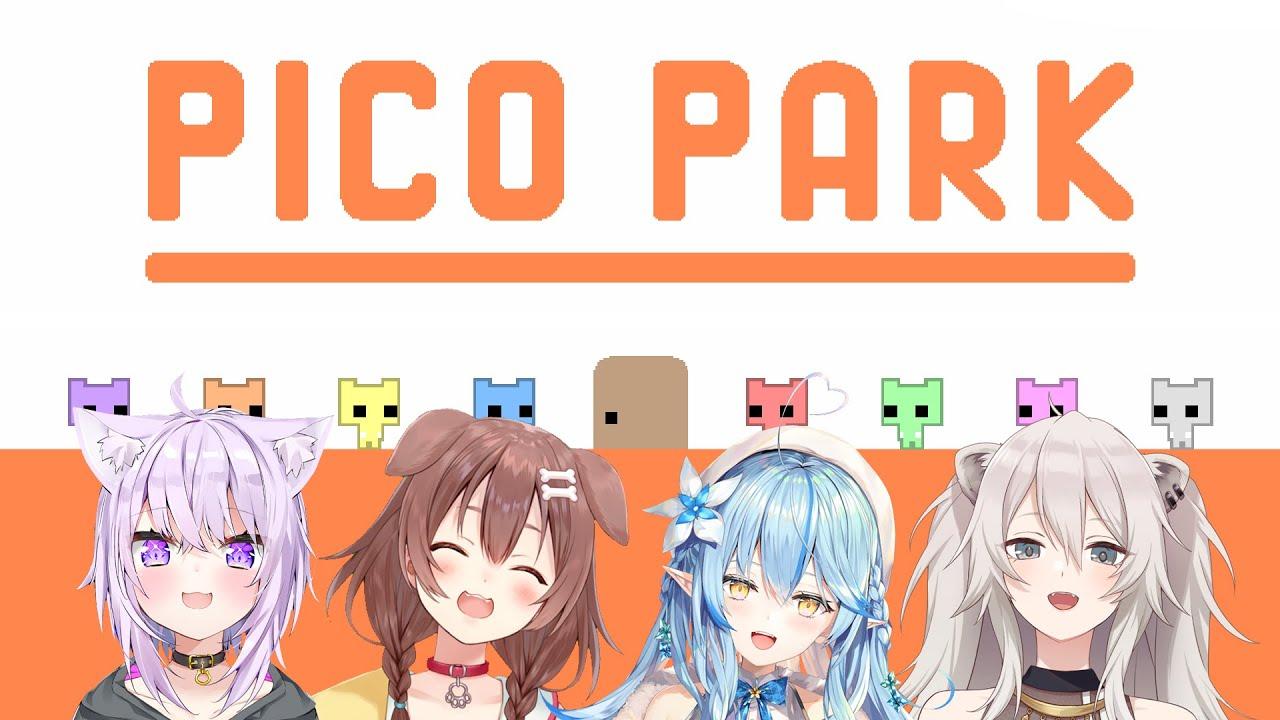 【PICO PARK】OKBR vs 協力パズル【ホロライブ】