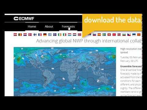 Download Unlimited ECMWF ERA-Interim Datasets By Python