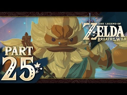 The Legend of Zelda: Breath of the Wild - Part 25 - Divine Beast Vah Rudania