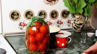 Как солить помидоры в банках дома  Помидоры квашеные быстро