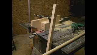 How to Make a Dowel Rod with a Table Saw.