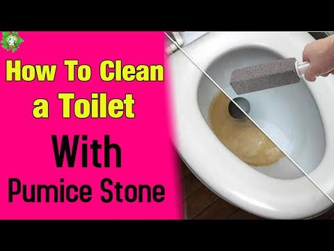 How To Clean a Toilet With Pumice Stone