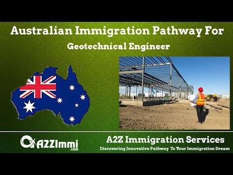Geotechnical Engineer | 2020 | PR / Immigration Requirements For Australia