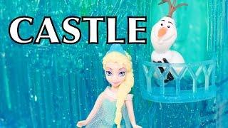 Frozen Elsa Ice Palace Castle Light Up Olaf Disney Queen Elsa Mattel Toy Review Unboxing