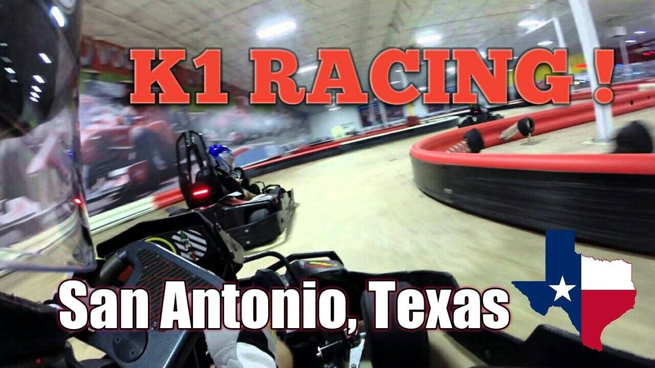 K1 Speed Gokart Racing San Antonio Texas Hd Youtube