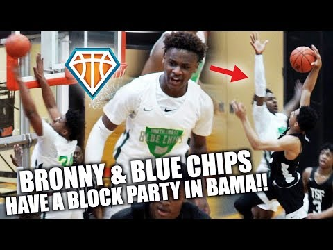 BRONNY HAD A BLOCK PARTY IN BAMA!! | North Coast Blue Chips Magic City Showcase Highlights