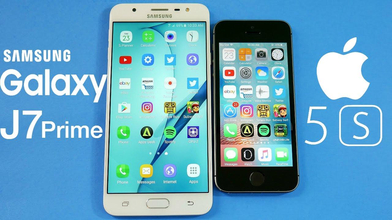 IPHONE SE VS SAMSUNG J5 2019