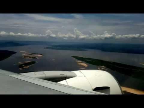Brazaville to Kinshasa by air