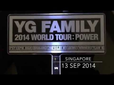 [CONCERT] YG Family Power Tour 2014, in Singapore (130914)