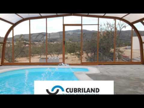 Presentamos los diferentes modelos de cubiertas para for Cubiertas de piscinas pipor