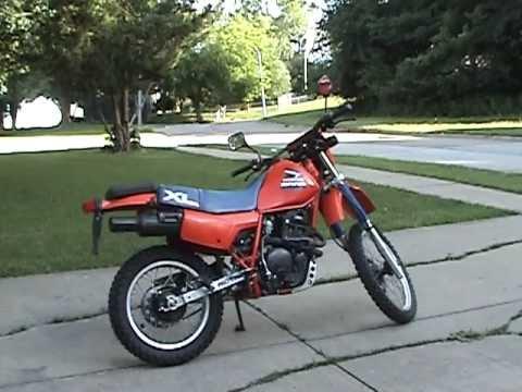 1985 XL600R Test Ride #0612.MPG