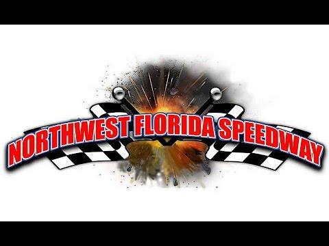 Gulf Coast Winged Mini Sprints at Northwest Florida Speedway 5/6/2017