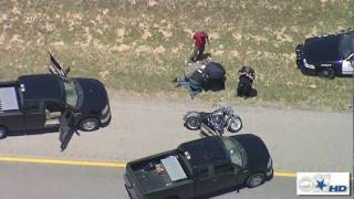 Fort Worth, TX Motorcycle Police Chase