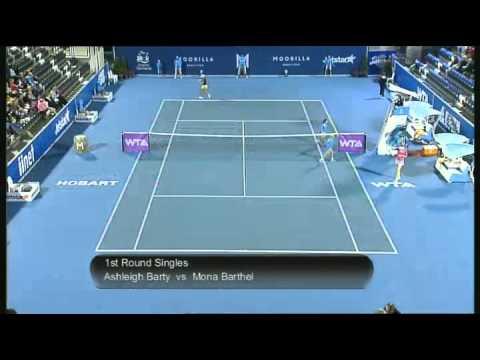 Ashleigh Barty vs Mona Barthel, Moorilla Hobart International 2013