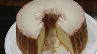 Lemon Glaze Icing for Lemon CC Pound Cake